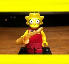 LEGO THE SIMPSONS SERIES 1 LISA w/ SAXOPHONE GENUINE MINIFIGURE SET# 71005 RARE