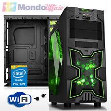 PC Computer GAMING Intel G4560 3,5 Ghz Dual Core - Ram 8 GB - HD 1 TB - WI-FI