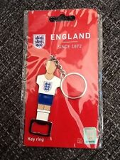 New Stocking Filler Football Official England Product Bottle Opener Keyring