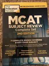 Mcat Princeton Review Set