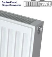 Stelrad Select Compact Central Heating Radiator 450 x 1000mm P+ Double Panel