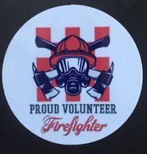 CFA, CFS,Vinyl Sticker, Firefighter, Fire Service, Volunteer, Proud, Australia