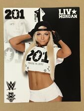 Liv Morgan WWE 8x10 Photo Pic NXT Takeover Wrestlemania Axxess New Jersey Asuka