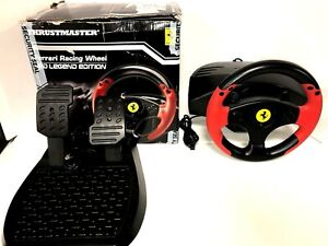Thrustmaster - Ferrari Red Legend Edition Racing Wheel for PC and PS3