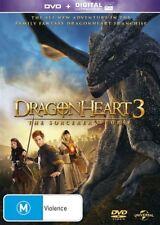 The Dragonheart 3 - Sorcerer's Curse (DVD, 2015) NEW R4