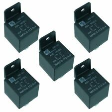 5x 12 V Automobile Relais 40 A 4-Pin Support SPNO Auto
