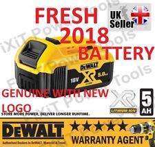 DEWALT DCB184 18V XR 5.0AH Battery Li-Ion Lithium Ion New *2018* Latest Design