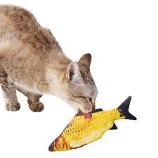 Pet Soft Plush 3D Fish Shape Cat Toy Fish Catnip Toys Fish Playing Toy For pet