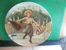 THE SOUND OF MUSIC 8 1/2 INCH COLLECTORS PLATE (LOT A40)