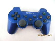 PS3 WIRELESS CONTROLLER GENUINE PLAYSTATION 3 SONY CECHZC2E ORIGINAL BLUE