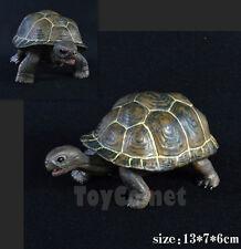 13cm Tortoise Realistic Reptile Animal Model Solid Plastic Figure Toy