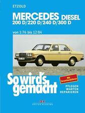 Mercedes W123 Hochformat Fans Serviceanleitungen & Motorrad