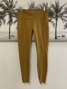 Lululemon Fast Free Tight Legging Spiced Bronze Yellow Size 10 $128