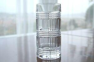 Ralph Lauren Glen Plaid Lead Crystal Hi Ball Good Quality Drinking Glass Lovely