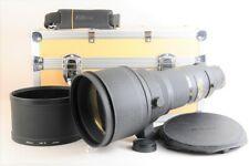 【MINT】NIKON AIS NIKKOR 400mm F/2.8 ED Telephoto MF Camera Lens +Trunk Case JAPAN