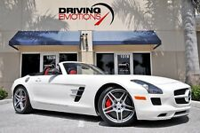 2012 Mercedes-Benz SLS AMG Roadster Convertible 2-Door