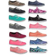 Vans Auténtico Lo Pro Zapatillas Mujer Stoff-Schuhe Ocio Zapatos de Verano Nuevo