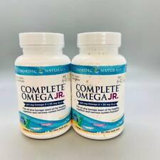 Nordic Naturals Complete Omega JR. Supplement  90 Mini Gels 2PK Exp 11/21+