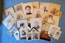 "Lot of 30 Plus Images of the ""Fishers,"" a Boston Area Family Circa Late 1800's"