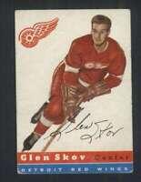 1954-55 Topps #16 Glen Skov VG/VGEX Red Wings 108267