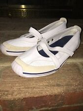 SPERRY TOP SIDER Deck Boat Loafers Flats Mary Janes LEATHER Womens SHOES Sz 7.5