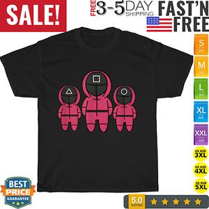 Squid Korean Game Vintage T Shirt Men Fashion 2021 Women T Shirt Short Sleeve