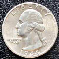1944 S Washington Quarter Dollar 25c High Grade BU #18414