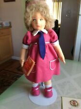 Beautiful Mint Condition Lenci Felt Italian Doll Limited Edition With Box 1984