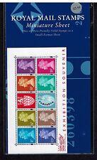 Ms2146 Jeffrey Matthews Souvenir Show 2000 Miniature Sheet Small Format Pack