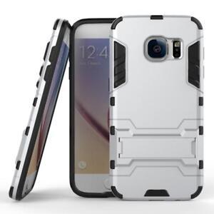 Samsung Galaxy s7 Kickstand Cover Protective Hybrid Shockproof Rubber Hard Tpu