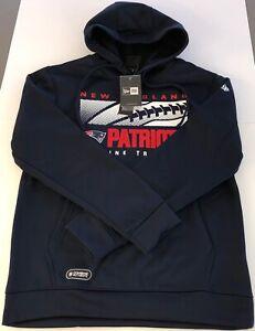 New England Patriots New Era Combine Authentic Hoodie NWT Men's M Navy