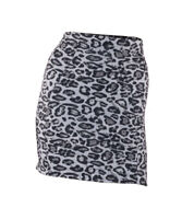 Ann Summers Control Skirt, Animal Print, Black/Grey, Size 14-20, UK Seller, BNWT