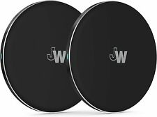 Just Wireless 5W Qi Wireless Charging Pad (2 pack) for iPhone XR/XS/8, S10/S9