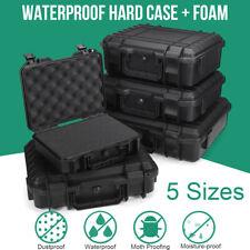 Large Hard Flight Case Foam Camera Photography Carry Storage Tool BOX w/ Foam UK