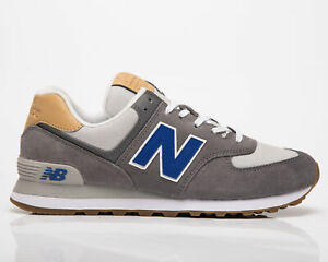 New Balance 574 Men's Castlerock Team Royal Low Casual Lifestyle Sneakers Shoes