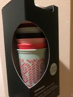 Starbucks Reusable Color Changing Hot Cups Holiday 2020 Candy Cane 6Pack NIB!