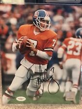 John Elway Signed Denver Broncos 8x10 Photo JSA