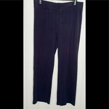 Lands' End Navy Blue Knit Pull On Pants L(14-16) Womens