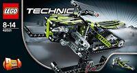 LEGO TECHNIC MOTOSLITTA SNOWMOBILE RARO NUOVO FUORI PRODUZIONE  ART 42021