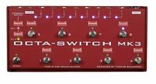Carl Martin Octa-Switch MK3 Multi-Effects Looper UK free shipping