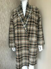 RALPH LAUREN HOUNDSTOOTH WOOL OPEN FRONT CARDIGAN JACKET COAT BNWT