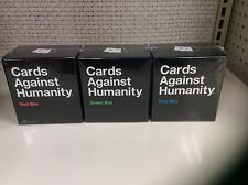 Cards Against Humanity Red Blue Green Box Pack Complete Expansion Set Party Game