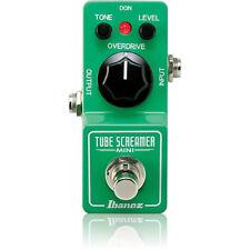 NEW Ibanez Tube Screamer Mini TS MINI Distortion Guitar Effect Pedal w/FREE PICK