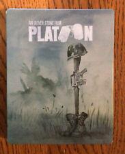 Platoon- Empty Blue ray Steelbook - Rare Case