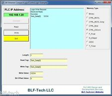 Run Time Free Allen Bradley Ethernet PLC Driver for ControlLogix & CompactLogix
