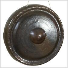 Tempel Gong 81,5 cm 9,83 KG Durchmesser Meditation TamTam Klangschale Nepal G9