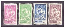 ALGERIE. N° 205/208 . SERIE  COMPLETE    NEUVE  ** .SUPERBE .