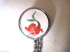 Little Mermaid Broche Reloj-Reloj de enfermera