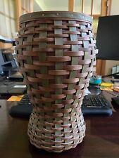 Longaberger Tour With Me Homestead Incentive Vase Consultant Award Basket