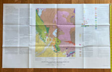 Vintage Map Of The Raymond Quadrangle, Madera And Mariposa Counties, California